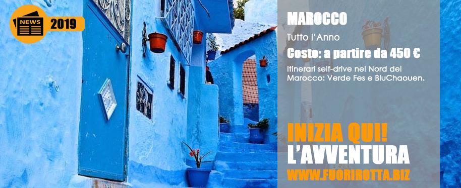 Marocco Verde Fes e Blu Chaouen